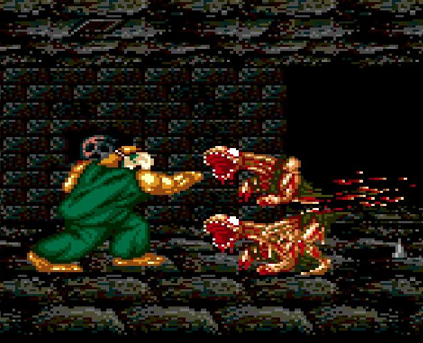 SplatterHouse 2 Namco Sega Genesis Mega Drive Xtreme Retro 15B