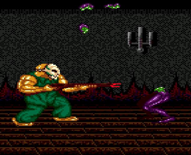 SplatterHouse 2 Namco Sega Genesis Mega Drive Xtreme Retro 18B