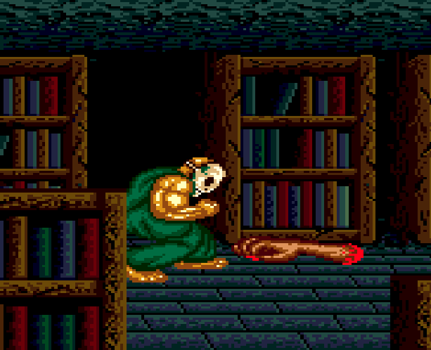 SplatterHouse 2 Namco Sega Genesis Mega Drive Xtreme Retro 19A