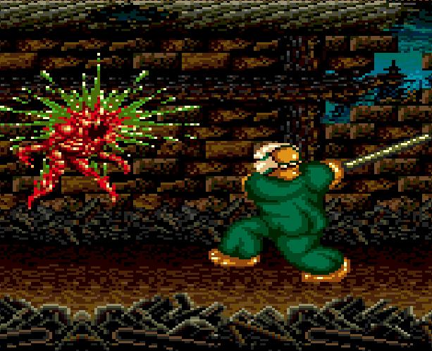 SplatterHouse 2 Namco Sega Genesis Mega Drive Xtreme Retro 4A