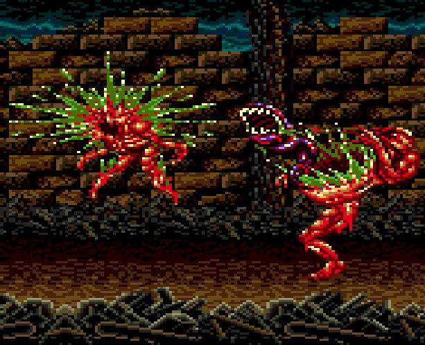 SplatterHouse 2 Namco Sega Genesis Mega Drive Xtreme Retro 4C