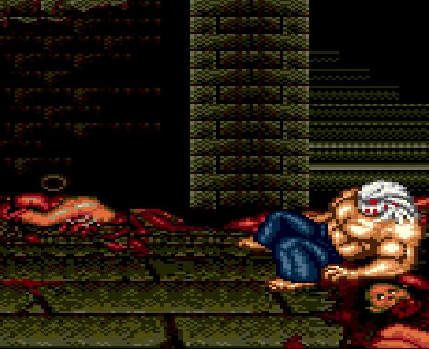 Splatterhouse Part 3 Fairlight Sega Genesis Mega Drive Namco Xtreme Retro Stage 1 Mansion 1st Floor B