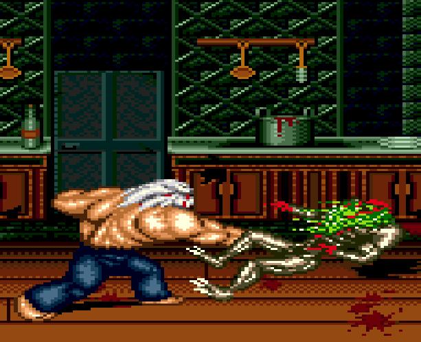 Splatterhouse Part 3 Fairlight Sega Genesis Mega Drive Namco Xtreme Retro Stage 1 Mansion 1st Floor