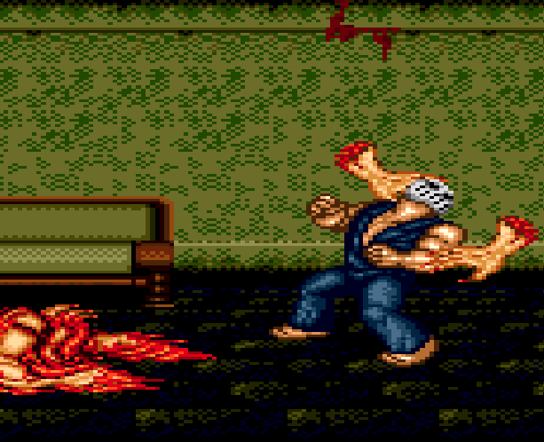 Splatterhouse Part 3 Fairlight Sega Genesis Mega Drive Namco Xtreme Retro Stage 2 2nd Floor B