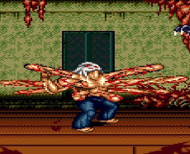 Splatterhouse Part 3 Fairlight Sega Genesis Mega Drive Namco Xtreme Retro Stage 2 2nd Floor D