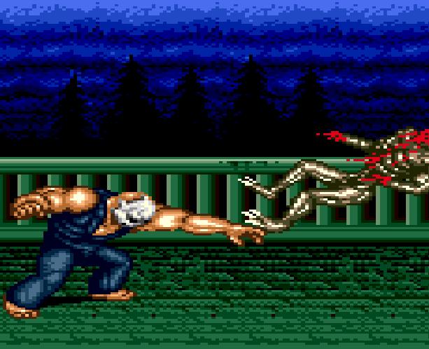 Splatterhouse Part 3 Fairlight Sega Genesis Mega Drive Namco Xtreme Retro Stage 2 2nd Floor