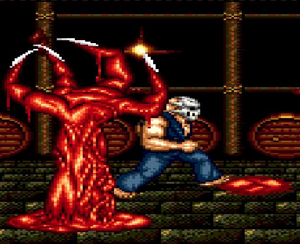Splatterhouse Part 3 Fairlight Sega Genesis Mega Drive Namco Xtreme Retro Stage 4 Mansion Basement A