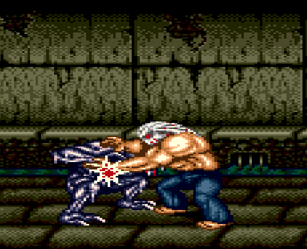Splatterhouse Part 3 Fairlight Sega Genesis Mega Drive Namco Xtreme Retro Stage 4 Mansion Basement