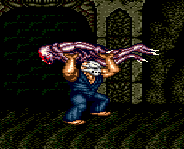Splatterhouse Part 3 Fairlight Sega Genesis Mega Drive Namco Xtreme Retro Stage 5 The Dark Stone
