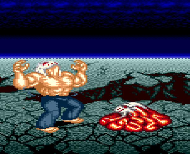 Splatterhouse Part 3 Fairlight Sega Genesis Mega Drive Namco Xtreme Retro Stage 6 The Mask
