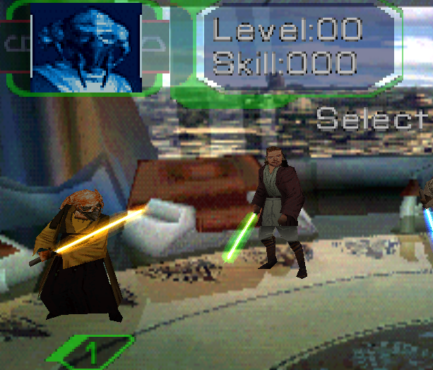 Star Wars Episode I Jedi Power Battles PlayStation Xtreme Retro 1
