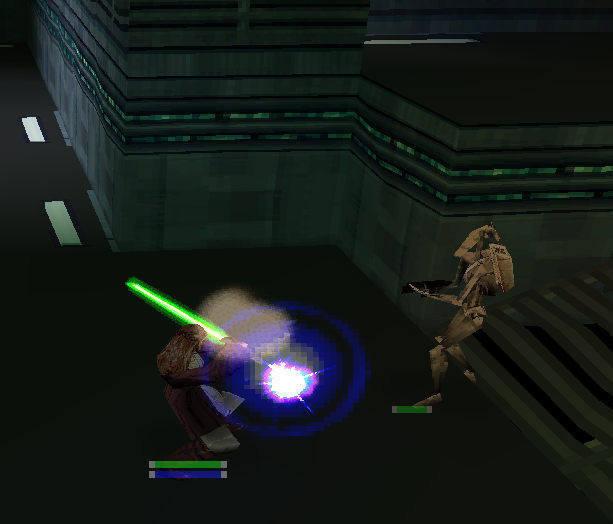 Star Wars Episode I Jedi Power Battles PlayStation Xtreme retro 4