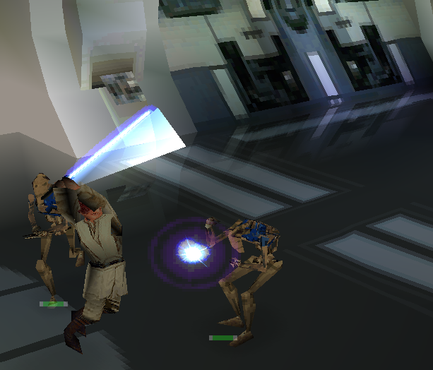 Star Wars Episode I Jedi Power Battles PlayStation Xtreme retro 6