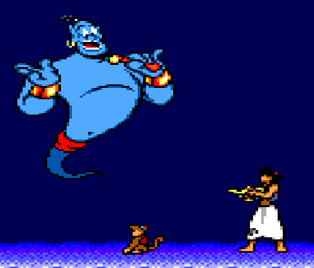 Aladdin Disney Sega Master System Xtreme Retro 16