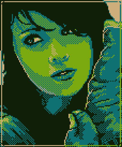 Carolina Pixel Art Xtreme Retro