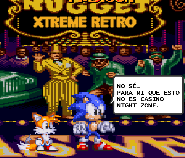 Casino Night Zone Sonic 2 Tails Sega Pixel Art Xtreme Retro