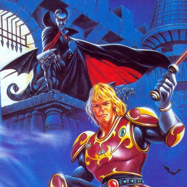 Castlevania II Simons Quest NES Cover Art Xtreme Retro