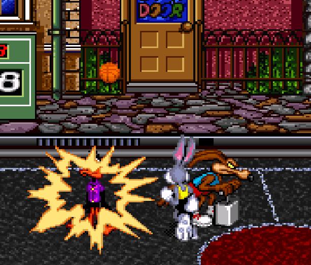 Looney Tunes B-Ball SNES Sunsoft Xtreme Retro 2