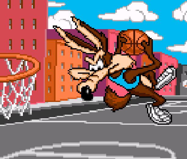 Looney Tunes B-Ball SNES Sunsoft Xtreme Retro Dunkus Maximus