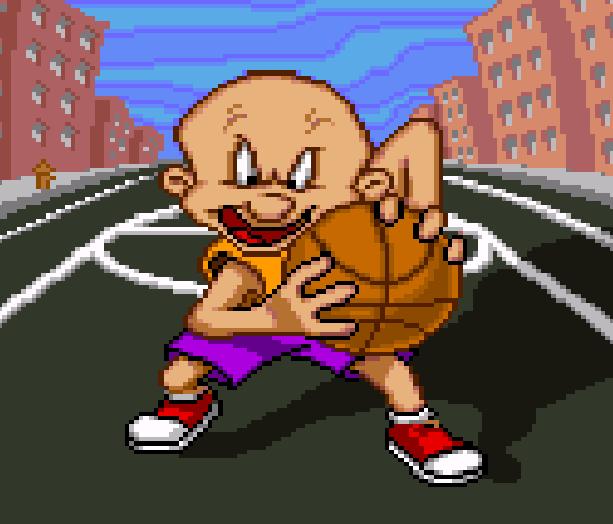 Looney Tunes B-Ball SNES Sunsoft Xtreme Retro Elmer Fudd