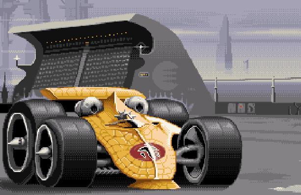 Stunt Race FX Nintendo Pixel Art SNES Xtreme Retro