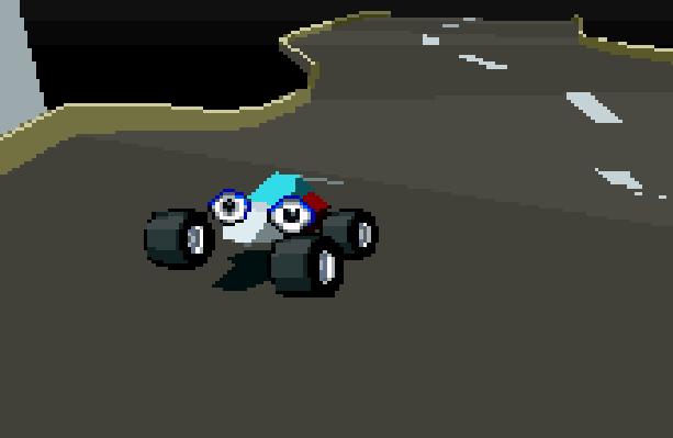 Stunt Race FX Nintendo SNES Xtreme Retro 1