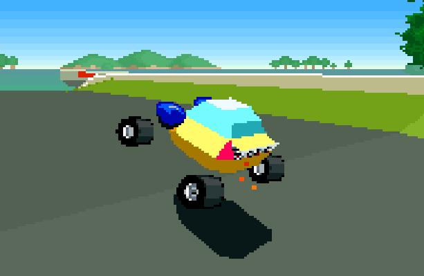 Stunt Race FX Nintendo SNES Xtreme Retro 10