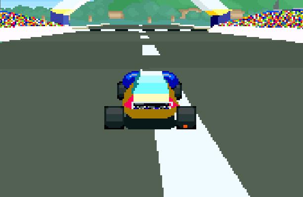Stunt Race FX Nintendo SNES Xtreme Retro 11