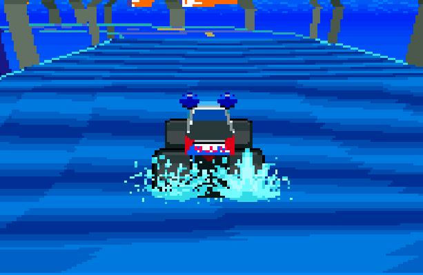 Stunt Race FX Nintendo SNES Xtreme Retro 4