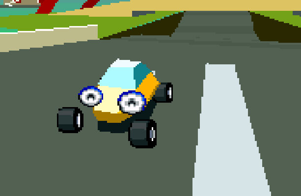 Stunt Race FX Nintendo SNES Xtreme Retro 6