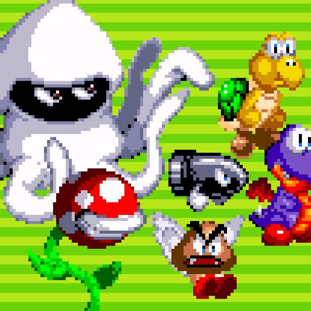 Super Kart Fighter NES Pirate Fighting Game Pixel Art Nintendo Xtreme Retro