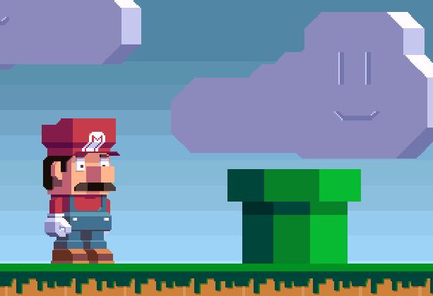 Super Mario Bros Nintendo Demake Pixel Art Xtreme Retro