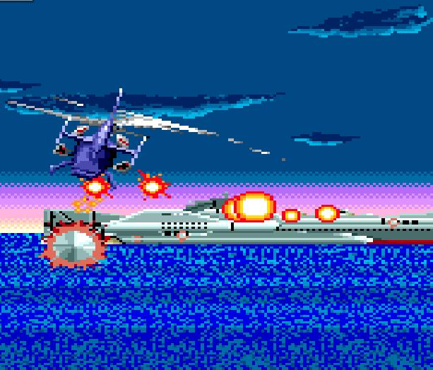 Super Thunder Blade Sega Genesis Mega Drive Xtreme Retro 3