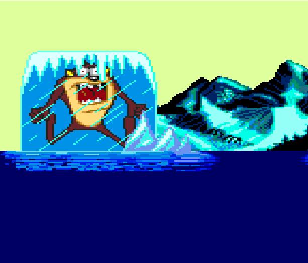 Taz-Mania the Search for the Lost Seabirds Sega Genesis Mega Drive Xtreme Retro 2