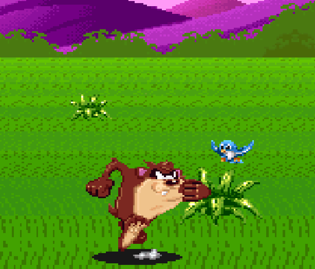 Taz-Mania the Search for the Lost Seabirds Warner Bros Sega Genesis Mega Drive Master System Game Gear Pixel Art Xtreme Retro