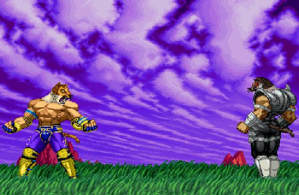 Tekken 3 Special Namco Sega Genesis Mega Drive Pixel Art Xtreme Retro