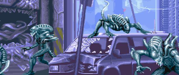 Alien VS Predator Arcade Capcom Xtreme Retro 1