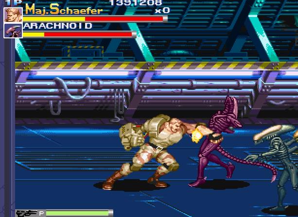 Alien VS Predator Arcade Capcom Xtreme Retro 16