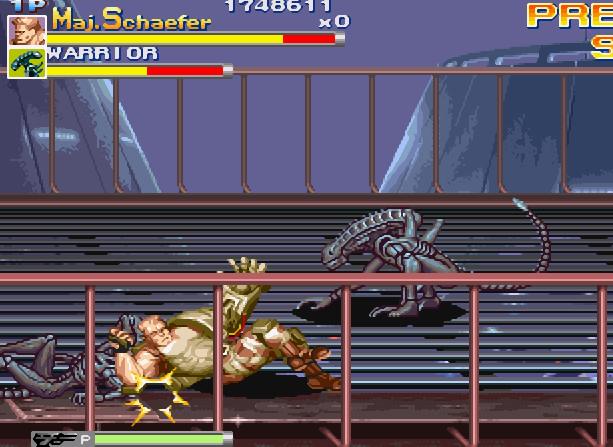 Alien VS Predator Arcade Capcom Xtreme Retro 18
