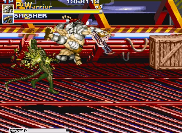 Alien VS Predator Arcade Capcom Xtreme Retro 19