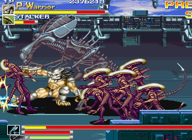 Alien VS Predator Arcade Capcom Xtreme Retro 21