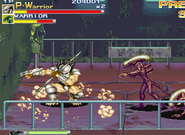 Alien VS Predator Arcade Capcom Xtreme Retro 6