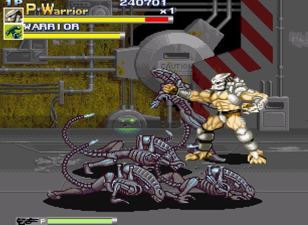 Alien VS Predator Arcade Capcom Xtreme Retro 7