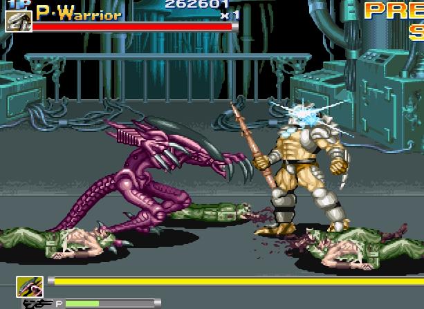 Alien VS Predator Arcade Capcom Xtreme Retro 8