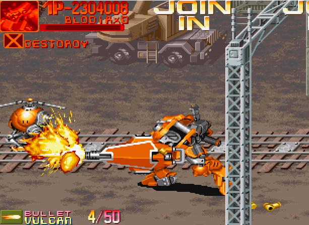 Armored Warriors Capcom CPS-2 Arcade Coin-op Xtreme Retro 7
