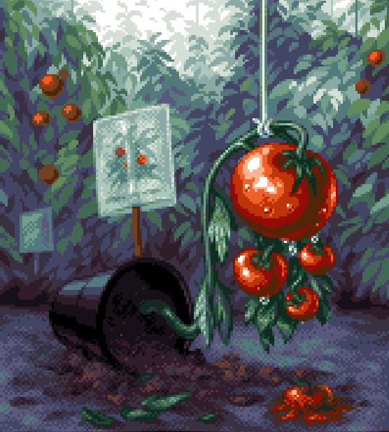 Bills Tomato Game Puzzle Psygnosis Amiga Atari St Sega Genesis Mega Drive Unreleased Game Xtreme Retro Pixel Art