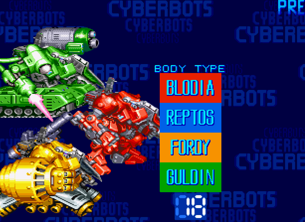 Cyberbots Full Metal Madness Capcom Arcade Coin Op CPS-2 Xtreme Retro 3