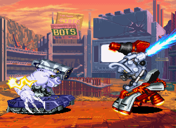 Cyberbots Full Metal Madness Capcom Arcade Coin Op CPS-2 Xtreme Retro 5