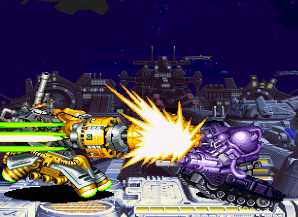 Cyberbots Full Metal Madness Capcom Arcade Coin Op CPS-2 Xtreme Retro 8