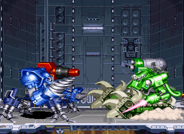 Cyberbots Full Metal Madness Capcom Arcade Coin Op CPS-2 Xtreme Retro 9